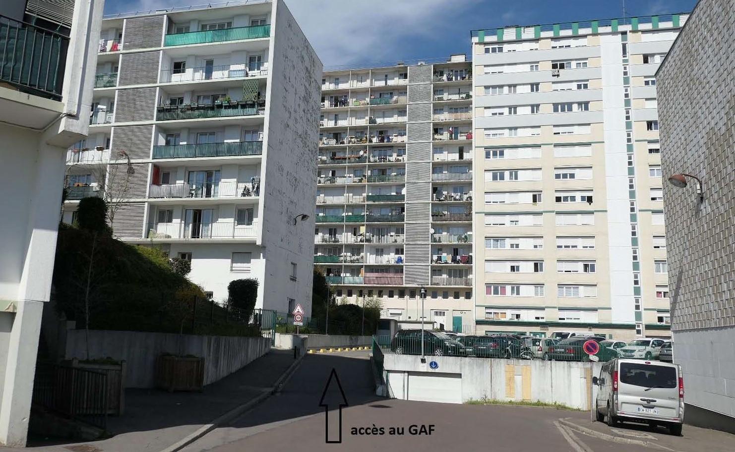 Accès GAF-SC Versailles