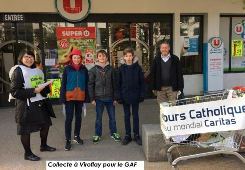 GAF78 - collecte alimentaire 108